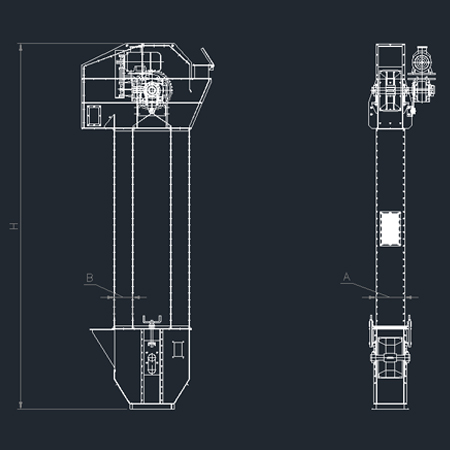 Cimas - Elevatore A Tazze mod. ET - 2