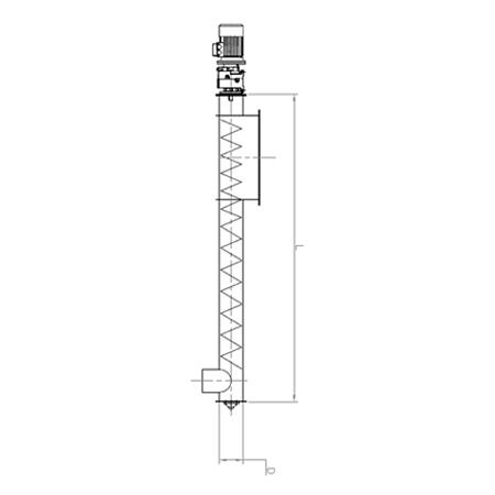Cimas - Estrattore A Coclea mod. EC - 1